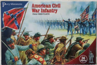 Perry Miniatures 28mm ACW-1 ACW  Infantry 1861-65